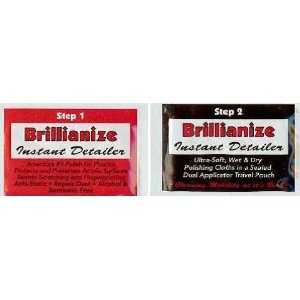 Brillianize Detailer Wipes for Kodak Truper 3600